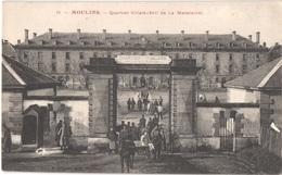 FR03 MOULINS - 15 - Quartier Villars - Caserne Soldats - Animée - Belle - Moulins