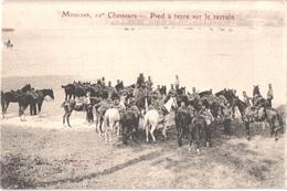 FR03 MOULINS - 10° Chasseurs - Pied à Terre Sur Le Terrain - Animée - Belle - Moulins