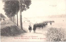 FR03 MOULINS - 10° Chasseurs - Après La Manoeuvre - Retour Au Quartier - Animée - Belle - Moulins