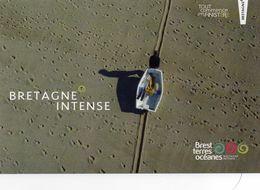 CPM - J - BRETAGNE INTENSE - RETOUR DE PECHE A PONTUSVAL - BRIGNOGAN PLAGES - FINISTERE - Bretagne