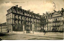 N°61150 -cpa Caen -la Gendarmerie- - Police - Gendarmerie