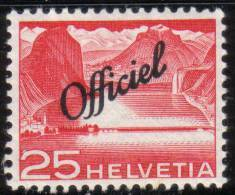 OFFICIEL Zu 69 / Mi 69 / YT 289 ** / MNH SBK 10,- - Dienstzegels