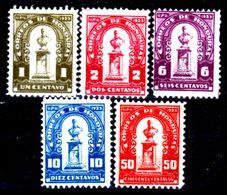 Honduras-0021 - 1924: Valori Della Serie Y&T N.175-181 (+) Hinged - - Honduras