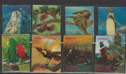 Bhoutan Année 1969 Oiseaux 235-238 Et PA 54-57 - Bhoutan