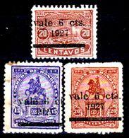 Honduras-0023 - 1927: Valori Della Serie Y&T N. 191A-194 (+) Hinged - - Honduras