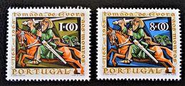 800 ANS DE LA REPRISE D'EVORA AUX MAURES 1966 - NEUFS ** - YT 987/88 - MI 1006/07 - 1910-... República