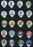 3267 A - Loro Loterie Romande - Serie Complete De 20 Opercules Creme Suisse Cremo - Opercules De Lait