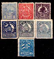 Honduras-0025 - 1927-1929: Valori Della Serie Y&T N. 195-205 (sg/o) NG/Used - - Honduras