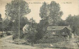 LE DONZEIL (creuse) - Le Moulin. - Water Mills