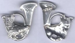 Insigne Du 81e Bataillon De Chasseurs Portés - Armée De Terre
