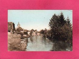 71 Saône Et Loire, St-Loup-sur-Semouse, Vue Sur La Semouse, (Combier) - Frankrijk