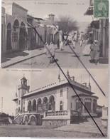 Tunisie ; TUNIS- Lot De 2 Cartes - Casino Du Belvédère / Rue Sidi Halfaouine - Tunisia