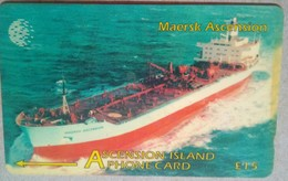 268CASB Maersk Ascension 15 Pounds - Ascension