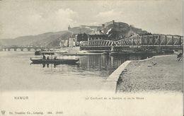 Namur  -   Le Confluent De La Sambre Et De La Meuse  -  1900 - Namur
