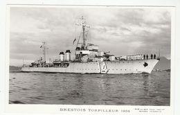 BRESTOIS TORPILLEUR  1934 - édit. Marius Bar - Phot. Toulon - Guerre