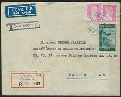 Turquie Taahhütlü En Recommandé Pour Paris En 1950 - Turkey