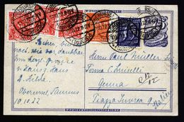 A5353) DR Infla Karte Oberursel 10.10.22 Genua / Italien - Deutschland