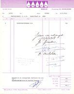 Factuur Facture - Carin - Benelux - Middelkerke 1968 - Droguerie & Parfumerie