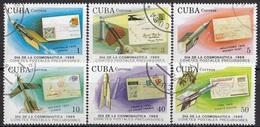 CUBA 3279-3284,used - Space