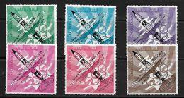 JORDANIE 1965 VOL DE MAC DIVITT ET WHITE  YVERT N°A42/47  NEUF MNH** - Space