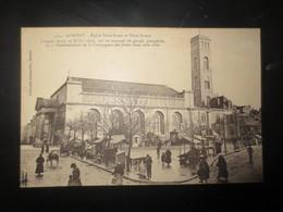 Lorient Eglise St Louis Et Place Bisson - Lorient