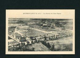CPA - 71 - BOURBON-LANCY - VUE GENERALE DES USINES PUZENAT - France
