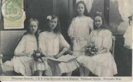 Famille Grand Ducale - Prinzessin Charlotte - Erbgrossherzogin Maria-Adelhaid - Prinzessin Antonia Prinzessin Hilda - Ci - Koninklijke Families