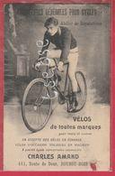 Boussu-Bois - Top Carte- Marchand Et Fournitures Pour Cycles: Charles Amand ( Voir Verso ) - Boussu