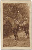 Photo-carte : Un Cavalier Belge En Tenue De Campagne - Personen