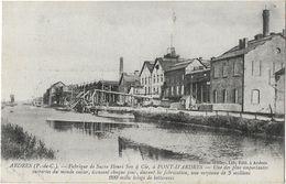 Ardres - Fabrique De Sucre Henri Say & Cie, à Pont-d'Ardres - Ardres