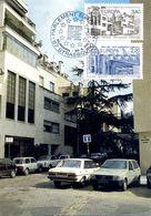 EUROPA CEPT FRANCE 1987 CARTE MAXIMUM N° YVERT 2471/72 - 1987
