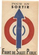 TRACT AVEC COLLE . FRONT DE SALUT PUBLIC - Documentos Históricos