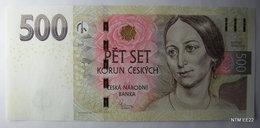 CZECH REPUBLIC 500 Korun Banknote World Money Currency Note Bill P24 2009  UNC - Czech Republic