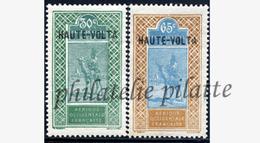 -Haute Volta  41/42** - Unused Stamps