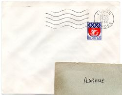 VENDÉE - Dépt N° 85 = LUCON 1966 = FLAMME Non Codée = SECAP Muette '5 Lignes Ondulées' DERNIER JOUR Du DATEUR Non Codé - Marcophilie (Lettres)