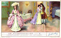 1323 DE ROZENKAVALIER - Le Chevalier à La Rose  -  (opera) Liebig Chromo Serie –  Avoid Sending-cost &  Read Description - Liebig