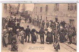 56   ENVIRONS  D'auray  NOCES  BRETONNES  LA  RIDEE    TBE   1Q135 - Auray
