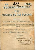Casteau Neufvilles Chaussée-Notre-Dame-Louvignies Dossier SNCV Raccordement Privé Ets Gillerot 1910 - Collections