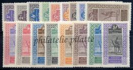 -Haut Sénégal & Niger 18/34** - Unused Stamps