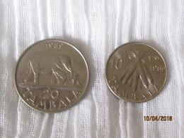 Malawi: 10 + 20 Tambala 1989 - Malawi