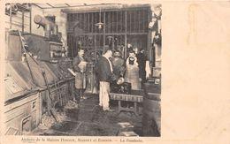 """PARIS  -  Atelier De La Maison  """" HINGUE , MARRET Et BONNIN """"  - La Fonderie - 220 Rue Saint-Martin - Arrondissement: 03"""