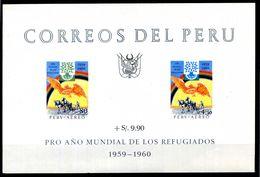 1960 PERU' BF3 MNH** - Perù