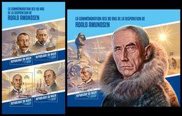 NIGER 2018 - Roald Amundsen, M/S + S/S. Official Issue - Niger (1960-...)