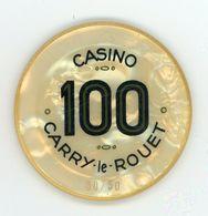 Jeton Du Casino Carry Le Rouet 100 Fr - Casino