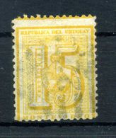 1872 URUGUAY N.37 USATO - Uruguay