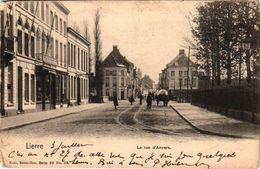 1 CPA Lier  Lierre   Antwerpsestraat   La Rue D'Anvers   Anno 1905  Uitg.Nels  Serie 22  N°33 - Lier