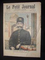 PETIT JOURNAL  N 287 Shah De Perse Shah Mozaffer Ed Dine 1896 Format 460 X310 - Journaux - Quotidiens