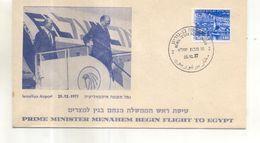 Enveloppe Premier Jour FDC Israel - FDC