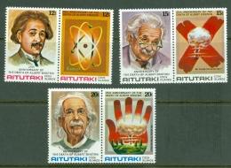 Aitutaki: 1980   25th Death Anniv Of Albert Einstein   MNH - Aitutaki
