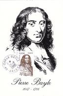 Carte-Maximum FRANCE N° Yvert 3901 (Pierre BAYLE) Obl Ord Carla Bayle (Ed Sud Imprimerie) - Maximum Cards